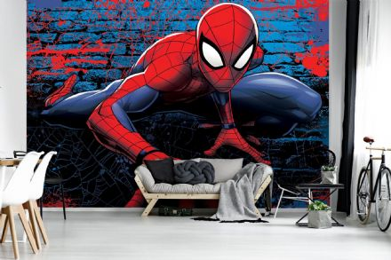 Photo wallpaper Spider-man brick
